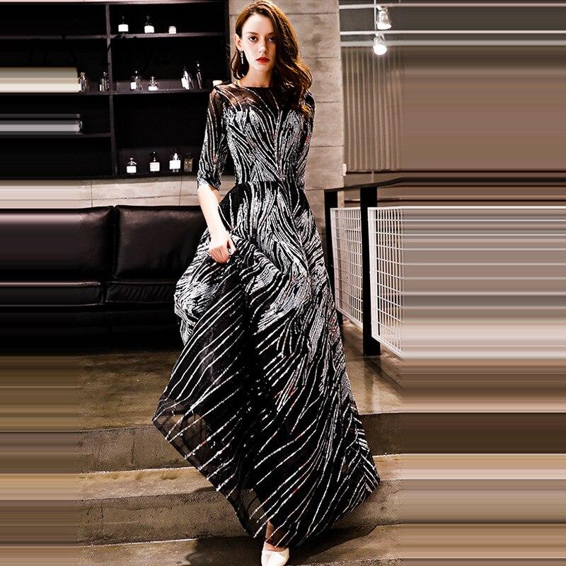 901a81bf8977bed Плюс размеры вечерние платья 2019 когда либо довольно EP08798CF Элегантный  ...