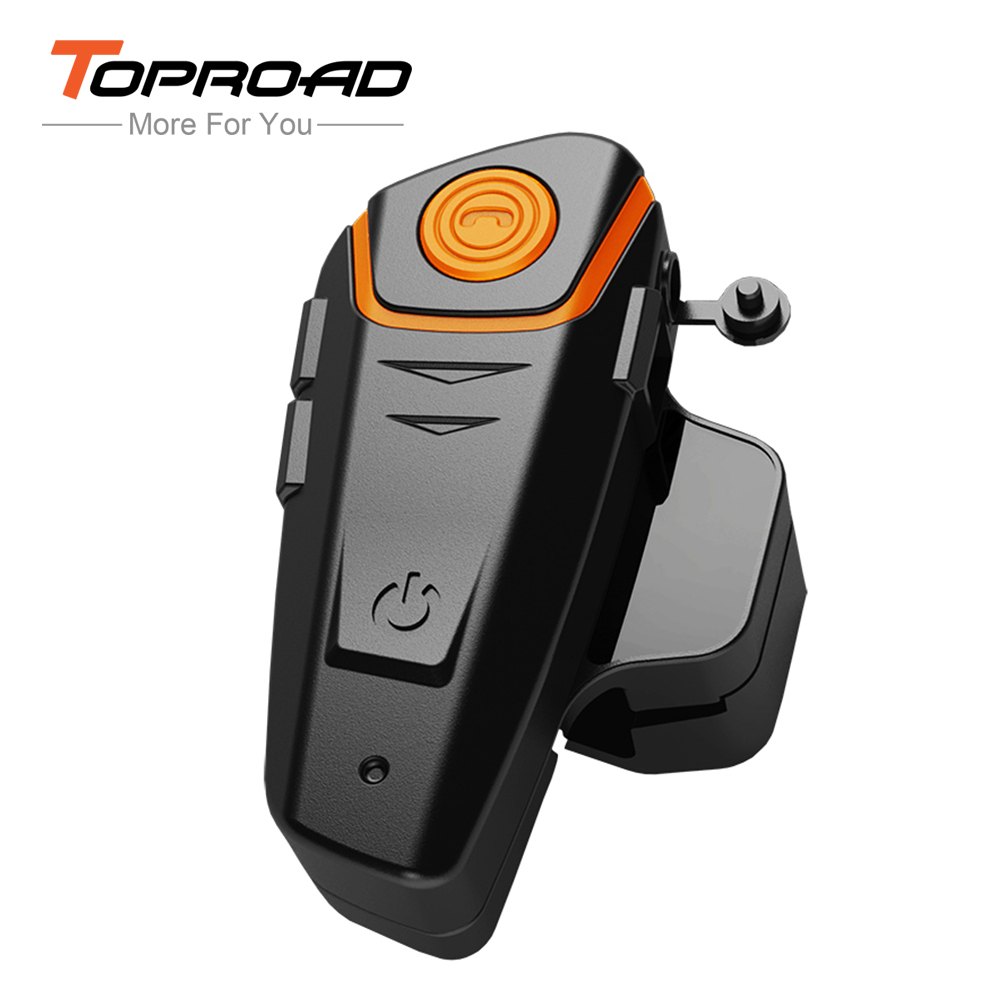 Waterproof Bluetooth Headset Wireless Stereo Motorcycle Headphones Clear  Voice Interphone Support Fm Handfree For Cellphones(