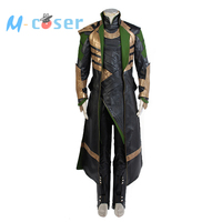 American Flim Thor The Dark World Loki Cosplay Costume Any Size Free Shipping