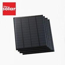 Солнечная панель 12 В вольт батарея Зарядные устройства для мобильных телефонов 12 В DC солнечный мини-комплект DIY для портативного автомобиля автобус RV внешний заряд батареи