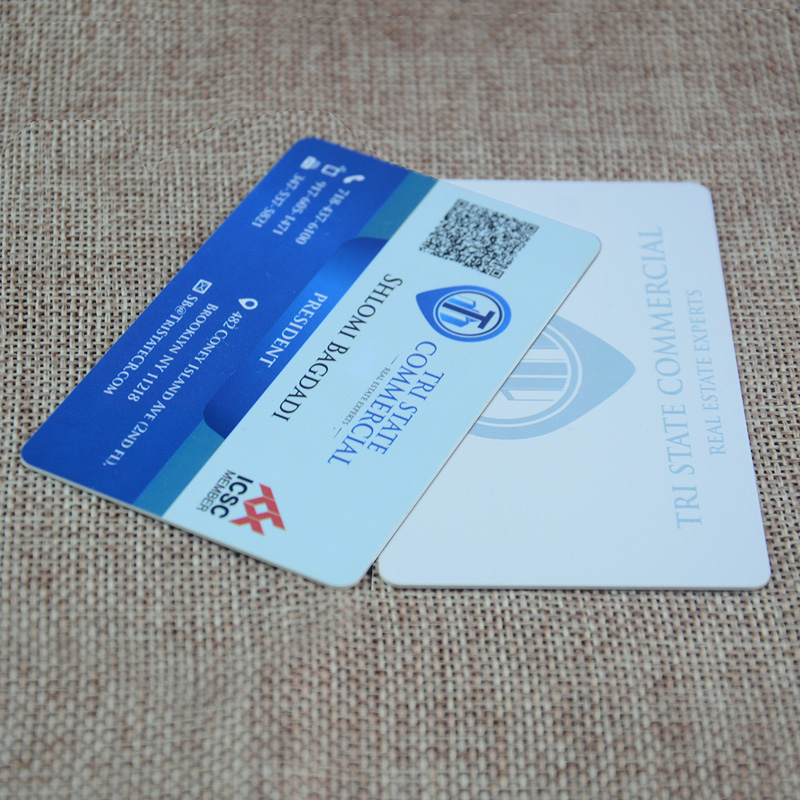 plastic business card printing 0.76mm thickness CR 80 Pvc cards ...