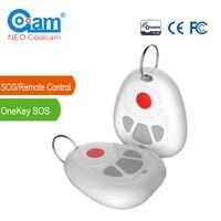 NEO COOLCAM NAS RC03Z Z wave Plus Smart Home Een Sleutel SOS en Afstandsbediening Sensor Z wave Smart Home automatisering Sensor-in Domotica van Veiligheid en bescherming op