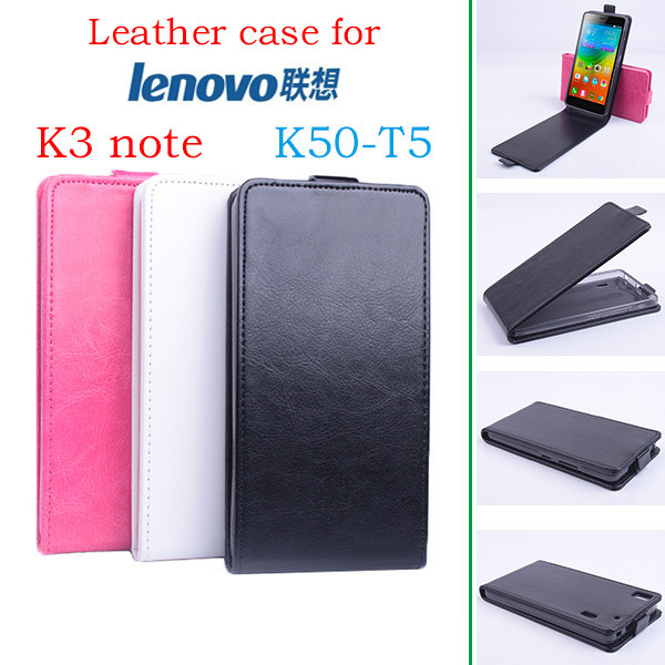 High Quality New Original for Lenovo K3 note K50-T5 Leather Case Flip Cover for Lenovo K3 note K50 T5 Case Phone Cover In Stock