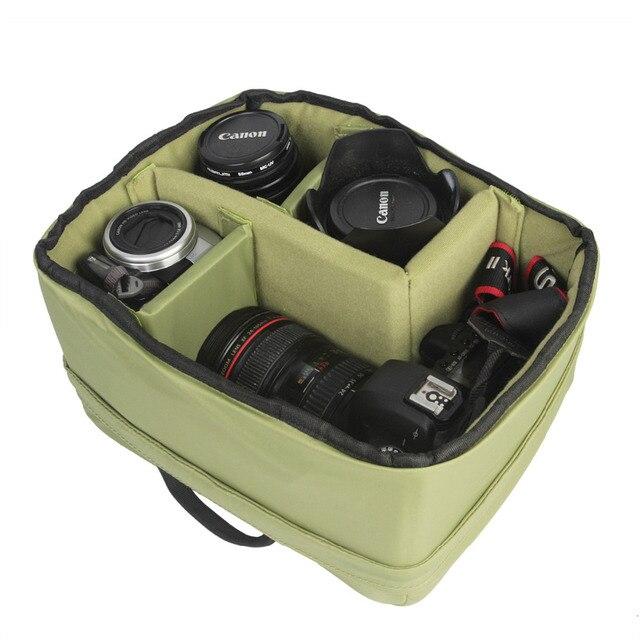 New  Arrival Waterproof Camera Liner Case Protective Soft Shockproof DSLR SLR Camera Lens Bag Insert Padded Digital Pouch