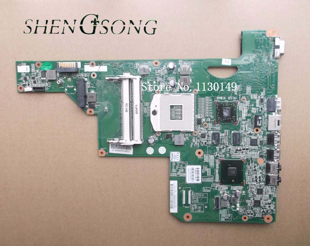 615381-001 free shipping for hp G62 Laptop Motherboard 100% test OK la 5972p for lenovo ideapad g555 laptop motherboard ddr2 free shipping 100% test ok