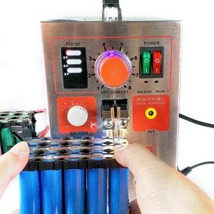 Image 3 - SUNKKO 709AD Spot welder 2.2KW High power battery digital display mobile soldering Spot welder 18650 Pulse spot weld  110 230V