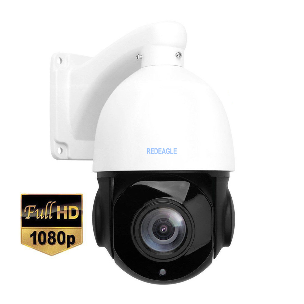 4 Inch 1080P 4MP Speed Dome IP PTZ Camera Network Onvif 30X Optical Zoom PTZ Outdoor Waterproof IP Camera 80m IR Night Vision 4 inch mini size 4mp camera outdoor onvif network h 265 ip ptz camera high speed dome 4xzoom ptz ip camera ir night vision p2p
