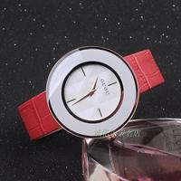 7 Color 2016 Hot Sales Women Dress Watches Luxury Large Dial Gift Watch Genuine Leather Rhinestone