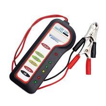 12 12v車のバッテリーテスター診断ツールオルタネータ電圧自動車車両バッテリースキャナ
