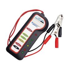 12V Auto Batterie Tester Diagnose Werkzeug Lichtmaschine Spannung Automobil Fahrzeug Batterie Scanner