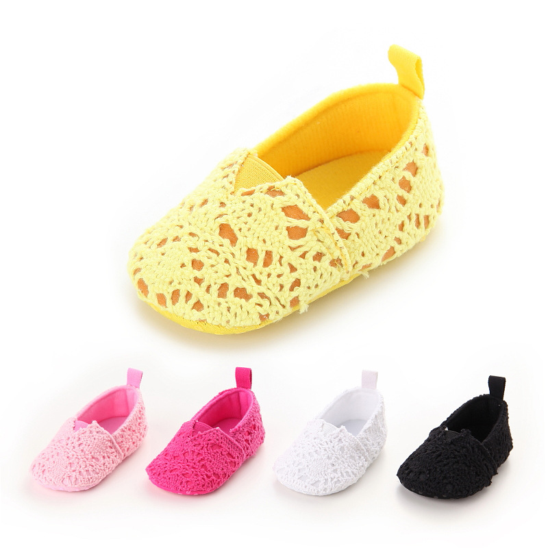 New Infant First Walkers Newborn Princess Shoes Spring Autumn Baby Crib Shoes