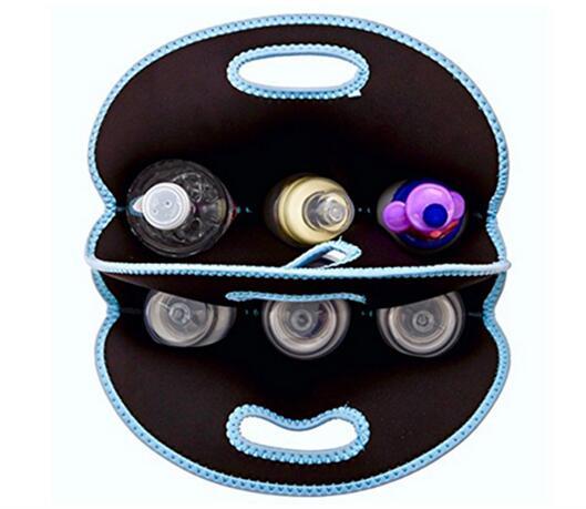 Sac Bleu Sbr Ciel Bouteille Gratuite Six Couleur Livraison Rouge Néoprène Vin Refroidisseur HpFYSqwp