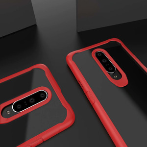 Image 5 - Heavy Duty Protection phone case for one plus 6 7 6t bumper protect Dirt resistant plain fitted case shockproof with free straps
