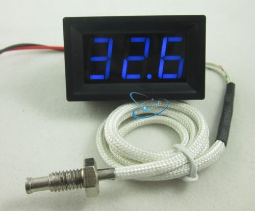 1pc DIY Digital LED 0-999C Temperature Thermometer Thermostas