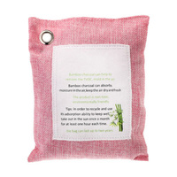 Air Purify Bag Nature Fresh Active Charcoal Bamboo Purifier Mold Odor 5 Packs