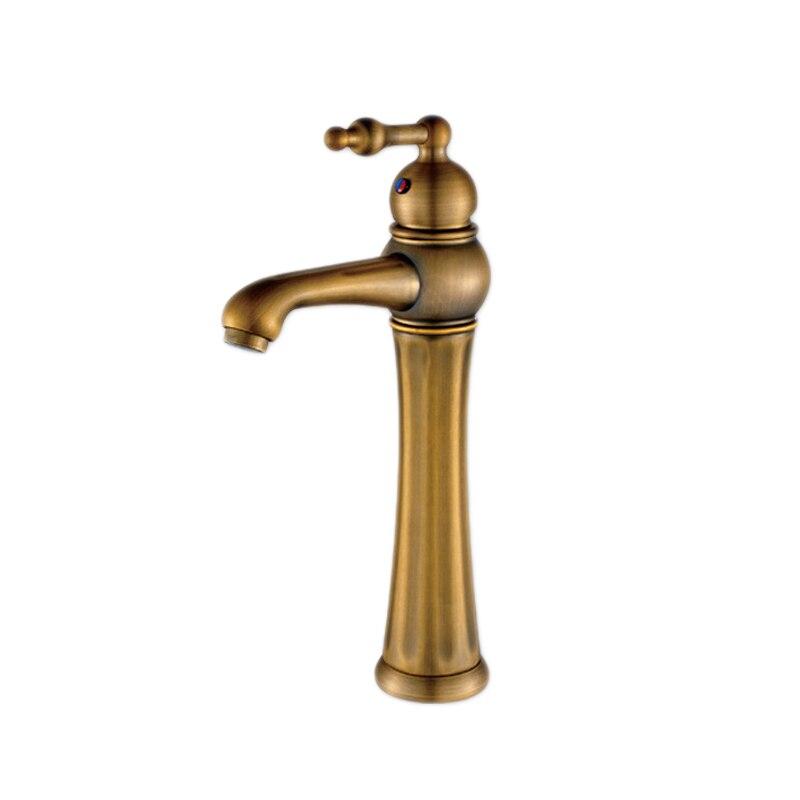 Livraison gratuite robinet mitigeur antique de luxe avec robinet de lavabo antique en laiton massif
