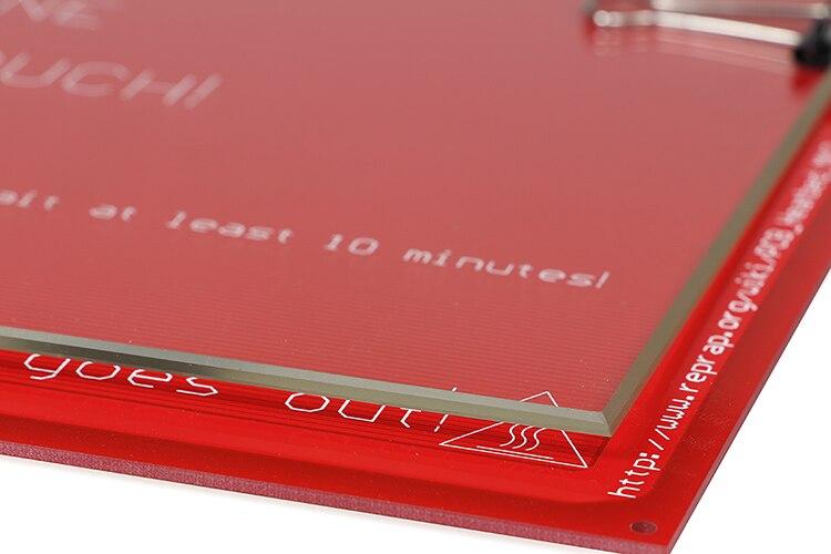 3d Printer Parts e Accessories 3d impressora de grande-tamanho 300*300*3mm Modelo Número : 300*300*3mm Borosilicate Glass Heating Bed
