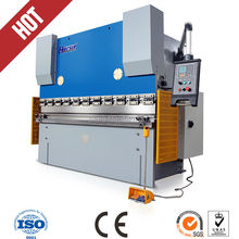 125Ton 5mm steel plate press brake auto copper bending machine
