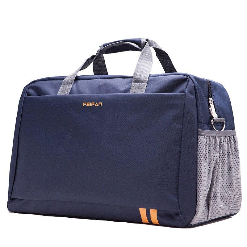 2019 Mode Faltbare Tragbare Schulter Tasche Wasserdichte Reisetasche Gepäck Große Kapazität Reise Tote Männer Und Frauen Gute QualitäT