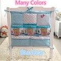 ¡ Promoción! gatito mickey 62*52 cm cama de bebé bolsas de almacenamiento de ropa organizador de almacenamiento de juguetes de bebé grande accesorios, baby bedding conjunto