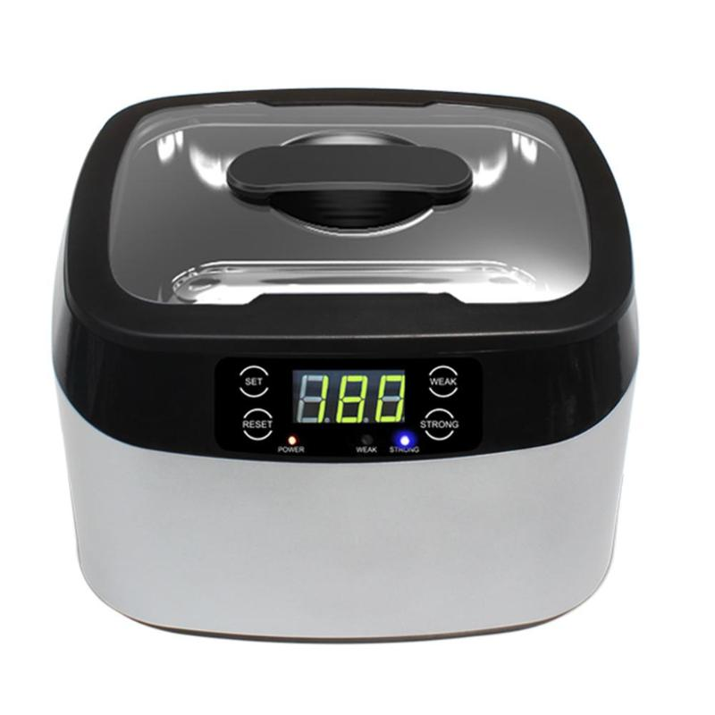 1.2L Digital Ultrasonic Cleaner Cleaning Machine Ultrasonic Cleaner Bath with Heater Timer Cleaning Jewelry Glasses 2l professional ultrasonic cleaner digital ultrasonic cleaner machine with heater timer cleaning jewelry false tooth shaver