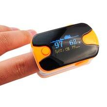 Новый Цвет Orange OLED Нажатием Пульсоксиметр С Звуковая Сигнализация и Pulse Sound-Spo2 Монитор Пальцем Пульс Оксиметр 200151