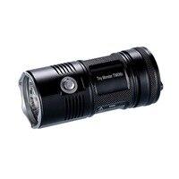 Топ продаж Бесплатная доставка Nitecore 4000 люмен TM06S CREE XM L2 U3 светодиодный фонарик Водонепроницаемый без 18650 Факел Открытый Отдых