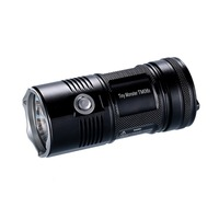 Top Sales Free Shipping NITECORE 4000Lumen TM06S CREE XM L2 U3 LED Led Flashlight Waterproof Without 18650 Torch Outdoor Camping