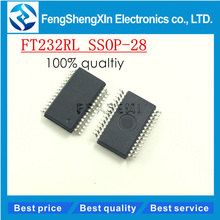 5pcs/lot  New   FT232RL FT232 FTDI USB FS SERIAL UART SSOP28 serial chips imported  original