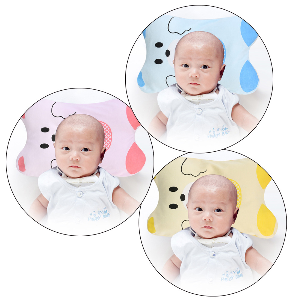Baby Bedding Sensible Baby Pillow Correct Sleeping Position Rollover Prevention Mattress Cotton Baby Styling Pillow Infant Protection Cushion Headrest