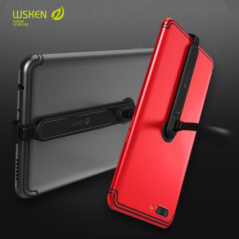 WSKEN Micro USB Type C Fast Charging Data Cable For iphone X 8 7 6 6S Plus Samsung Huawei Xiaomi Hand Tour L Bending Phone Cable