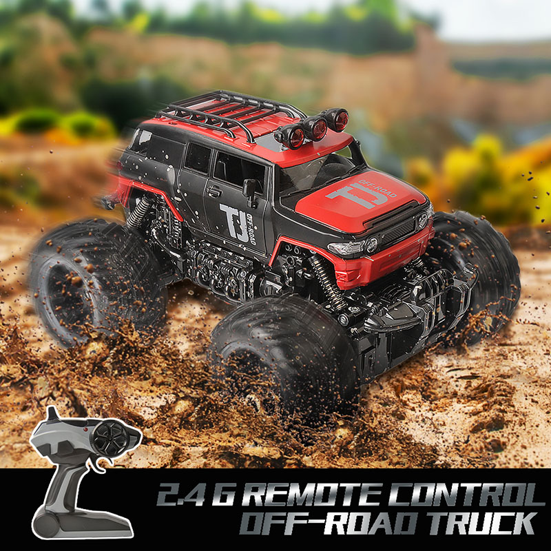 RC Car 2 4G 1 16 Scale Rock Crawler Car Supersonic Monster Truck Off Road Vehicle