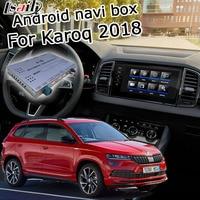Android GPS navigation box for Skoda Karoq MQB MIB MIB2 system 6.5 8 9.2 video interface box with youtube by Lsailt