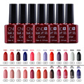 Nail Gel Polish UV&LED Shining Colorful 132 Colors10ML Long lasting soak off Varnish cheap Manicure uv gel