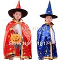 Baby Kids 2017 Hallowmas costumes personality kids party clothes poncho+hats enchanter design for christmas Hallowmas wear