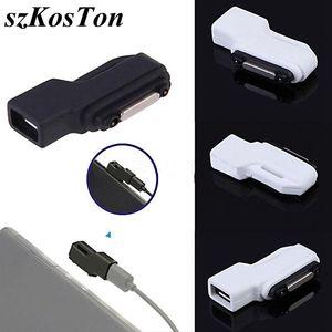 Image 1 - Wysokiej jakości fabrycznie nowy Micro USB do złącza magnetycznego Adapter do SONY Xperia Z3 Z2 Tablet Z1 kompaktowy Mini Z3 kompaktowy Tablet Z3
