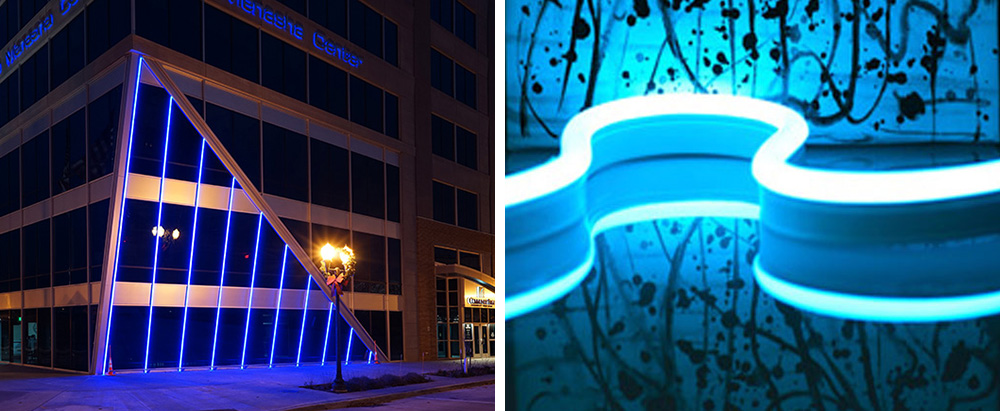 neon rope light-application 3