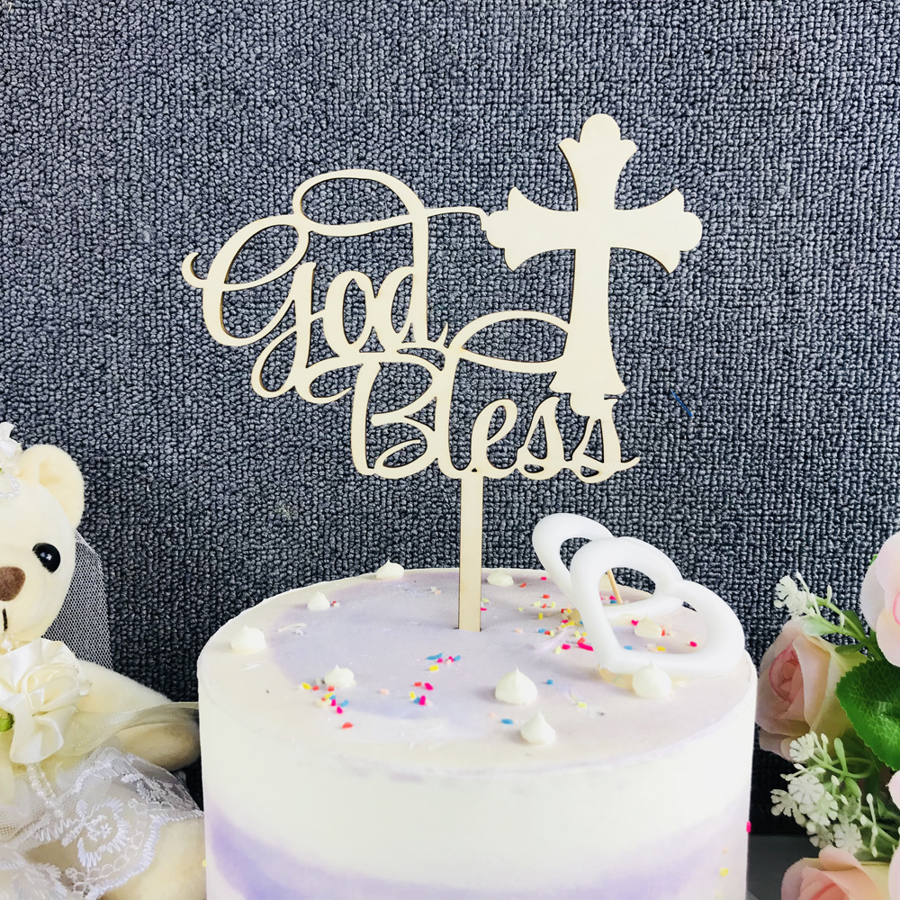 First Holy Communion Edible Icing CupCake Toppers girls /& boys mixed design