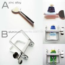 Высокое качество металлический зуб Алюминиевая Паста зубная паста мыло масляная краска для волос Косметика туба отжимная роликовая ванная комната