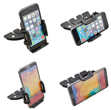 Car CD Player Slot Mount Cradle GPS Tablet Phone Holders Stands For Samsung Z3 Corporate Edition/J3 Emerge,Galaxy S5 Neo/On5 Pro