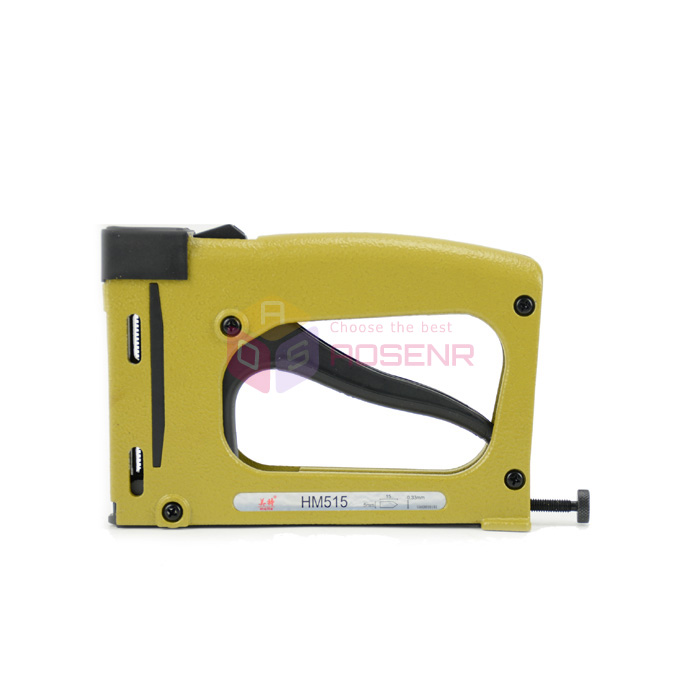 New Manual Woodworking Patch Nail Staple Gun HM515 Fixed Picture Photo Backplane Frame Tool Finishing Nailer Stapler Tacker