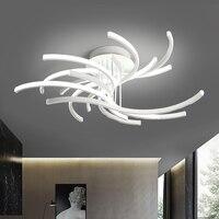 Спальня светодиодный потолочный светильник Цветущая лампа креативный декоративный цветок потолочный свет ресторан книга комната освещен