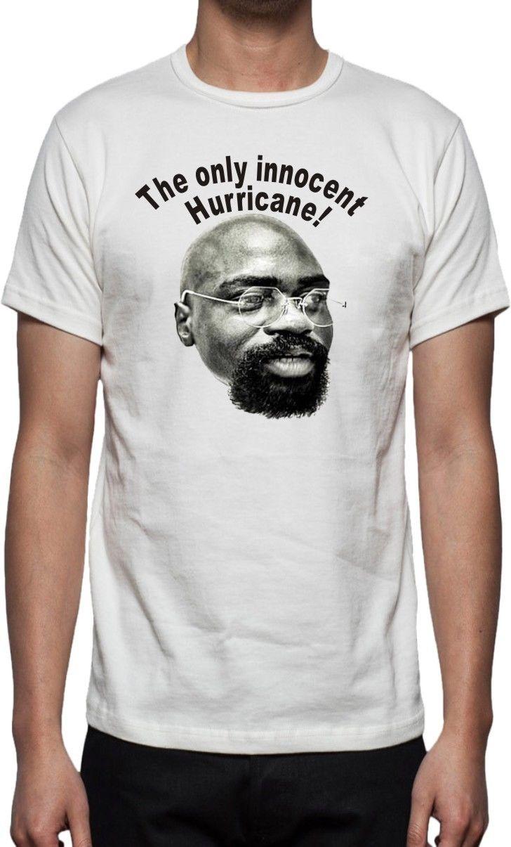 2017 Die Einzige Unschuldig Hurricane T Shirt Rubin Carter Wie Getragen By Ali & 3D Print Mens O-Neck Short Sleeve Tee