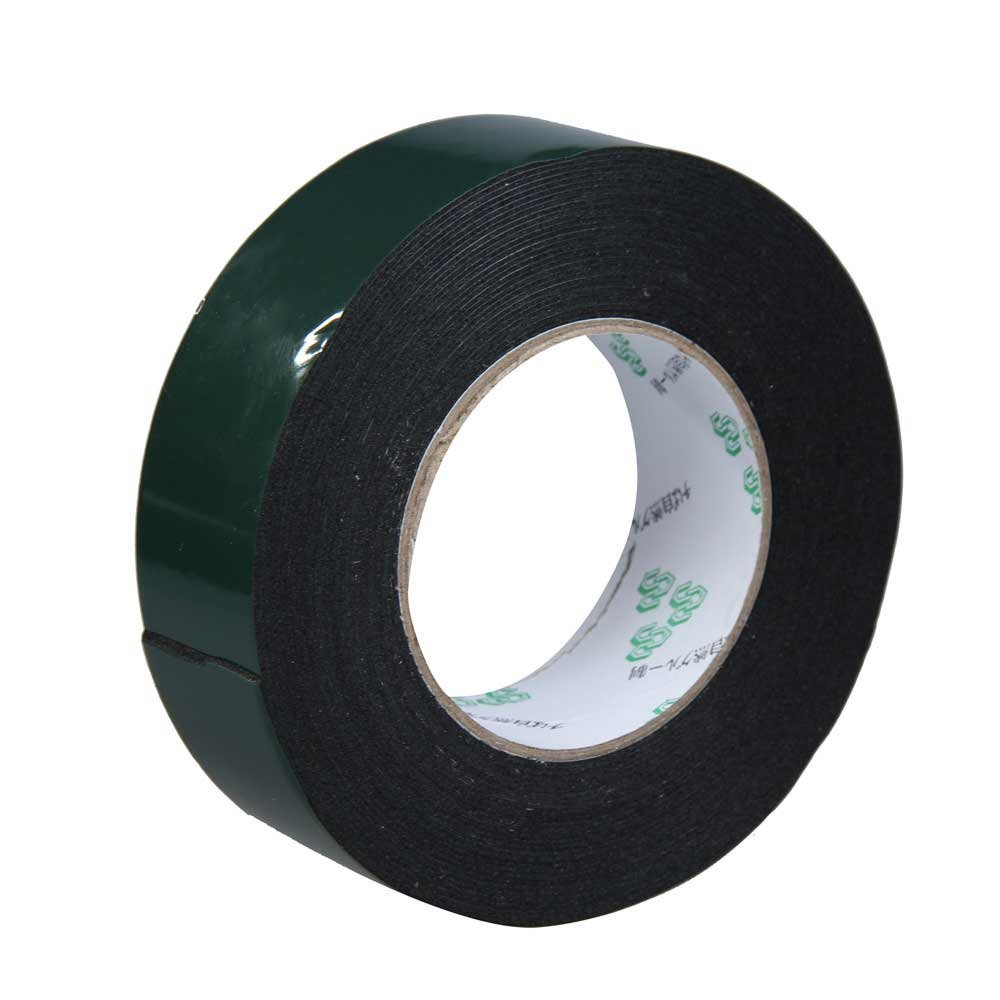 20PCs Multifunction Black Sponge Foam Double Sided Adhesive Tape (40mm*10m) 25mm x 1mm double sided self adhesive shockproof sponge foam tape 10m length