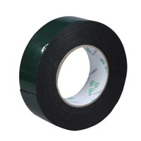 20PCs Multifunction Black Sponge Foam Double Sided Adhesive Tape (40mm*10m)