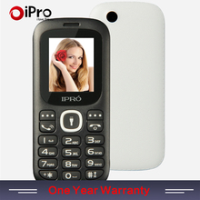 2016 IPRO Brand Unlocked Mobile Phone Celular 1 77 Inch Elders Phones GSM Dual SIM Cell