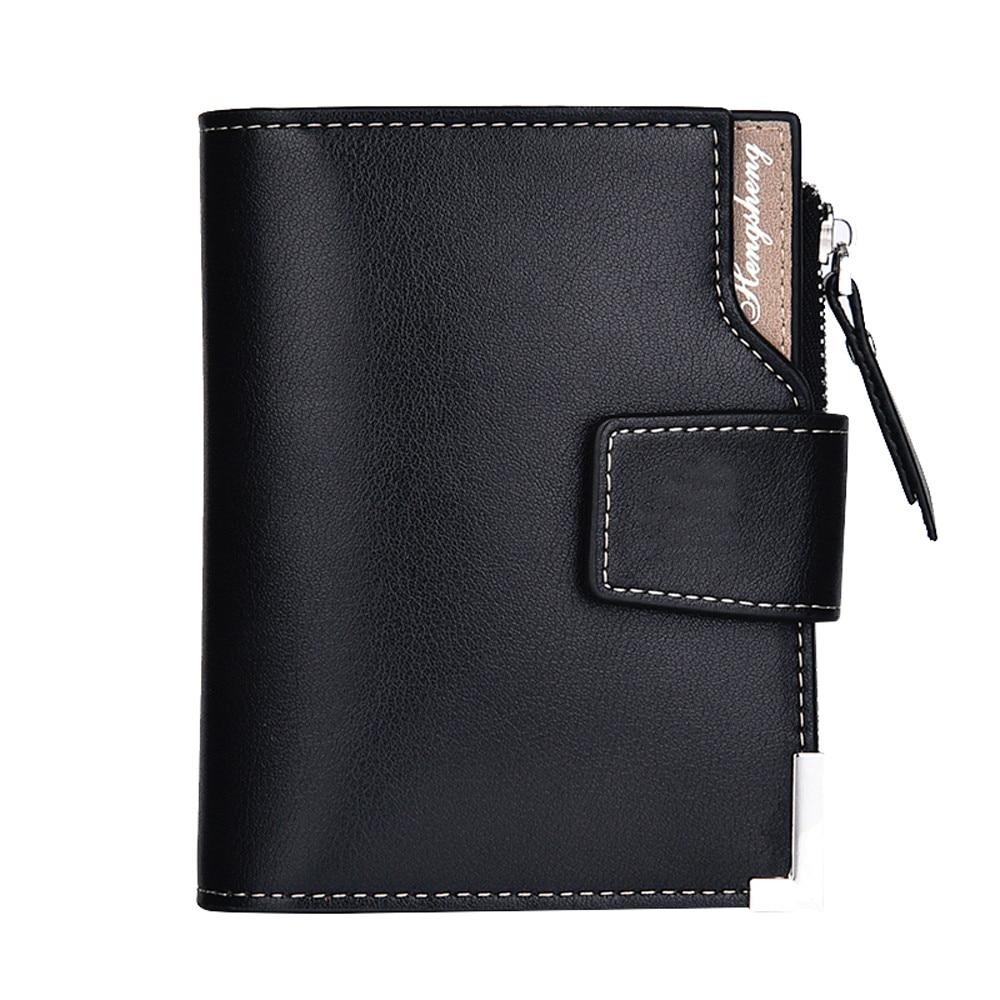 Wallet men leather men wallets purse short male clutch leather wallet mens money bag quality guarantee #YL цена