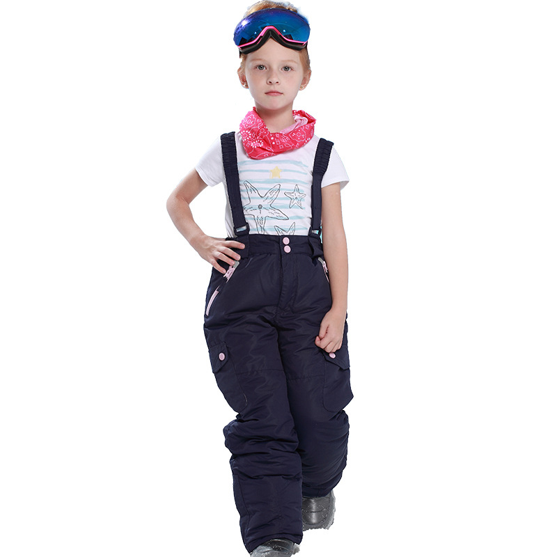 16e701d17c89 Dollplus 2019 New Outdoor Sports Boys Girls Ski Pants Kids Windproof ...