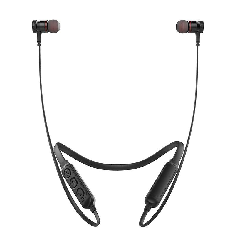 G10BL estéreo Bluetooth inalámbrico deportes auriculares banda para el cuello inalámbrico absorción magnética auriculares con micrófono Cancelación de ruido