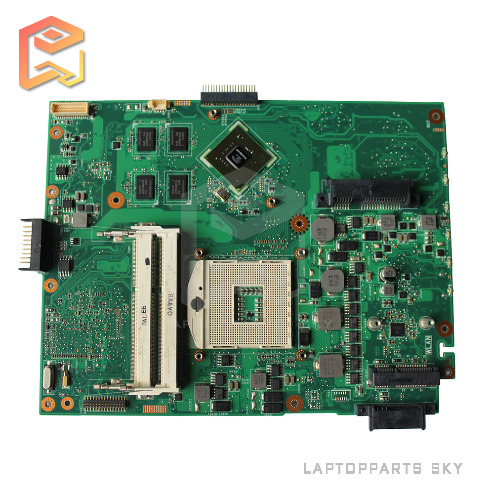 Original new laptop motherboard for ASUS A52J K52J K52JC REV:2.0 HM55 DDR3 mainboard free shipping